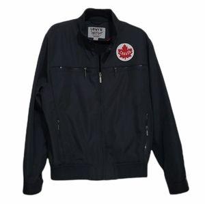 Vintage Levi's Grey Canada Patch Bomber Jacket